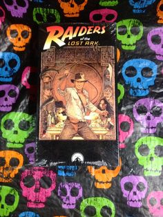 Raiders Of The Lost Ark VHS 1981/1989 by HECTORSVINTAGEVAULT