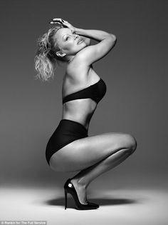 Pamela Anderson Wows In Bondage Inspired Lingerie