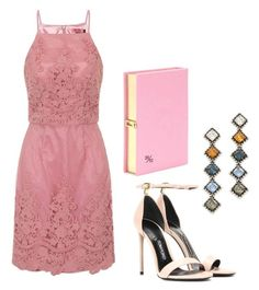 """Pink is the love at first sight"" by natalia-souza-ramos on Polyvore featuring Chi Chi, Tom Ford, DANNIJO and Olympia Le-Tan"