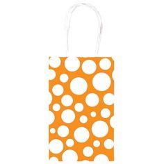 orange dot gift bag