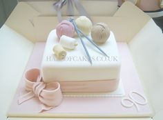 Knitting Cake by Hall of Cakes