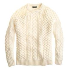 EDITOR'S OBSESSIONS — Rebecca's Picks (J.Crew Mixed Cable Sweater)
