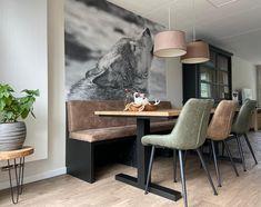Corner Desk, Interior, House, Furniture, Home Decor, De Stijl, Corner Table, Decoration Home, Indoor