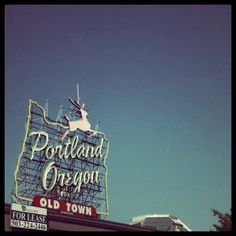 I'm so excited!!!!!! I'm on my way to the  Portland Oregon in