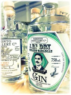 Toronto Distillery's newest addition:  J.R.'s Organic Canadian Dry Gin