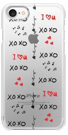 Casetify iPhone 7 Snap Case - xoxo by Li Zamperini Art