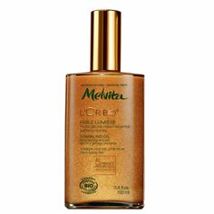 Melvita // L'or bio Huile lumière // Sparkling oi // For face, body and hair