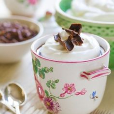 Classic French Chocolate Pot...lovely
