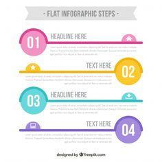 Infographic Template Vectors, Photos and PSD files Powerpoint Design Templates, Layout Template, Keynote Template, Index Design, Web Design, Infographic Powerpoint, Infographic Templates, Resume References, Information Design
