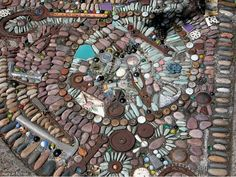 Nancyland Pebble Mosaic