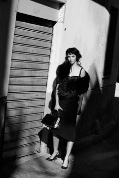 Mariacarla Boscono by Peter Lindbergh for Vogue Italia