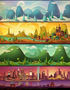 drawn to life game level backgrounds - Google Search