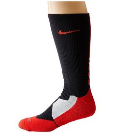 ead4c36d2d Nike HYPERELITE BASKETBALL SOCK BLACK/UNIVERSITY RED size XL 12-15