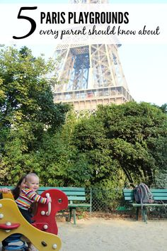 Give your baby a break from sightseeing! Where to find great play areas near major attractions in Paris. Read more at www.BabyCanTravel.com/blog