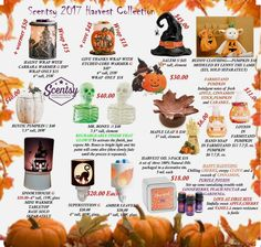 Wickless candles and scented fragrance wax for electric candle warmers and scented natural oils and diffusers. Shop for Scentsy Products Now! Fall Scents, Home Scents, Harvest Party, Fall Harvest, Kids Fathers Day Gifts, Scentsy Catalog, Scentsy Independent Consultant, Smell Good, Christmas Nails