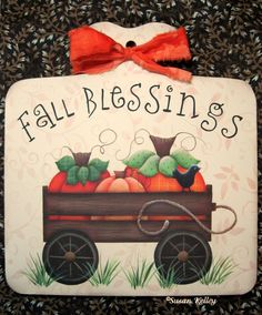 View All ePackets Autumn Painting, Autumn Art, Tole Painting, Fall Paintings, Thanksgiving Crafts, Fall Crafts, Online Painting Classes, Homemade Signs, Mail Gifts