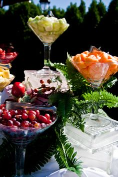 Martini Fruit Display