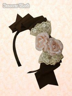Dorotea Rose Head Bow