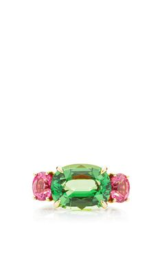 One Of A Kind Oval Tsavorite Ring by Paolo Costagli for Preorder on Moda Operandi