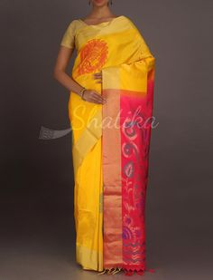 Janavi Peacock Fiesta Attractive #WeddingSilkSaree