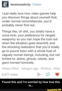 Found this and I'm worried by how true this is...