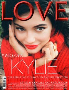 Kylie Jenner Resurfaces With a Smile on Love Magazine Cover—Shot by Sister Kendall! Kylie Jenner Makeup, Kendall And Kylie Jenner, Kris Jenner, Kardashian Jenner, Kourtney Kardashian, Kardashian Style, Elle Fanning, Travis Scott, Selena Gomez