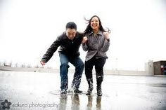 rainy day engagement photos - Google Search
