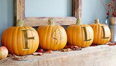 Carve a Fun Faux Pumpkin ( oct 2015 )