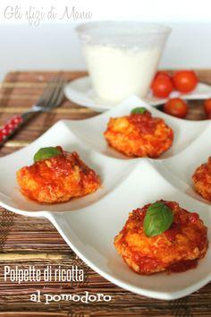 #polpette di #ricotta #ricetta #recipe #meatballs #toamto #pomodoro