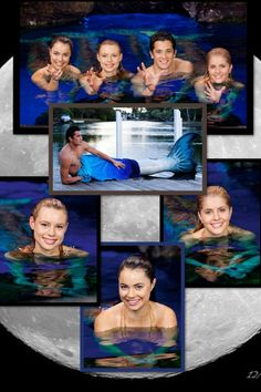 All mermaids in season one of mako mermaids Mermaid Pool, Mermaid Ring, Mermaid Tails, H2o Mermaids, Mermaids And Mermen, Rikki H2o, Mako Island Of Secrets, Merman, Summer Pictures