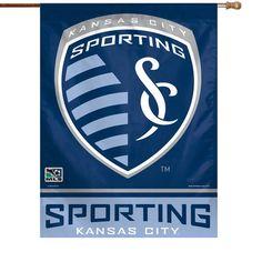 Sporting Kansas City WinCraft 27'' x 37'' Vertical Banner Flag - $15.92