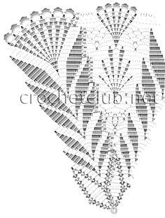 Horgolt ernyő - Kötés - HorgolásKötés – Horgolás Free Crochet Doily Patterns, Crochet Lace Edging, Crochet Diagram, Crochet Chart, Thread Crochet, Crochet Stitches, Crochet Dollies, Crochet Towel, Gilet Crochet