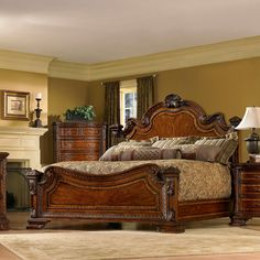 A.R.T Furniture's Old World Wood Bedroom Furniture Collection by Humble Abode…