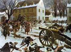 #TDIH (1776) General George Washington wins the Battle of Trenton. 1776 had been a difficult year! The victory provided a much-needed morale boost.