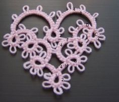 orecchini cuore pendente