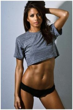 Maybe I'll look like this by the time summer is here ... A girl can dream