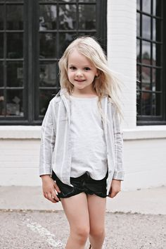 Ruffled Pleather Shorties - Nora Madison Designs