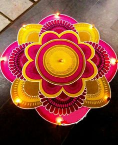 Latest Rangoli Designs for Diwali Browse over Ideas & Images on rangoli design for Diwali festival. Diwali is never complete without rangoli colours. Easy Rangoli Designs Diwali, Indian Rangoli Designs, Rangoli Designs Latest, Latest Rangoli, Simple Rangoli Designs Images, Free Hand Rangoli Design, Small Rangoli Design, Rangoli Border Designs, Rangoli Ideas