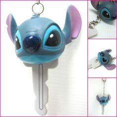 Lilo & Stitch Head Key Holder Key Chain Car Key Ring