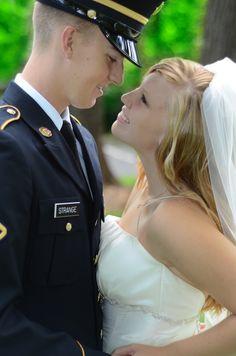army wedding :)