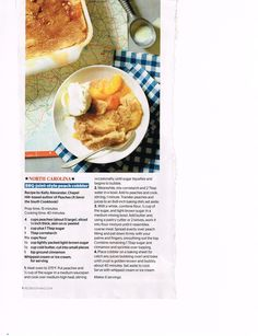 BBQ-joint-style peach cobbler Recipe by Kelly Alexander, Chapel Hill author of Peaches Redbook