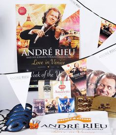 Did you not get a chance to host an André Rieu party?   We have a competition live on Twitter today. One lucky winner will receive an extra party pack so you can enjoy the Week of the Waltz too. Just retweet our competition Twitter post with the #LoveInVenice hashtag. (T&C's http://bit.ly/1zHQ3eM)