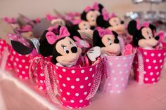 Cute idea for Minnie Mouse Party favors