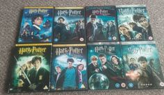 #Harry #potter - dvd - the #complete 8 film collection with 13 discs l@@k,  View more on the LINK: http://www.zeppy.io/product/gb/2/232056510790/