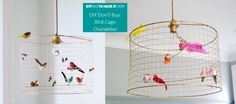 DIYingtomakeit.com DIY Birdcage Lamp
