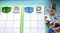 Earth Day Trash Sorting Practical Life Activity – The Little Montessori House Recycling Activities For Kids, Recycling For Kids, Sorting Activities, Montessori Activities, Science Activities, Science Lessons, Craft Kids, Kindergarten Science, Earth Day Projects