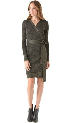 Shop for Fosette Wrap Dress by Diane von Furstenberg at ShopStyle. Day Dresses, Evening Dresses, Dresses For Work, Wrap Around Dress, Wrap Dress, Casual Chic Style, Fashion Books, Diane Von Furstenberg, Night Out