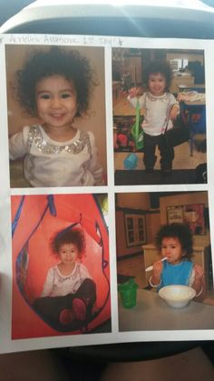 Abrielle's First Day of School (20mos)