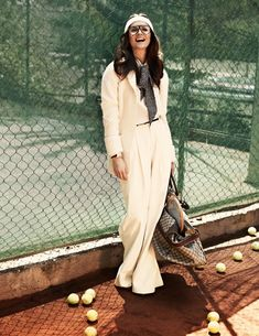 classic bride: Fashion Editorial Inspiration for E*Sesh: Tennis style Classic Bride: Polished Wedding + Daily Style