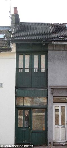 La casa más estrecha narrow house house and architecture
